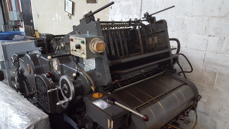 HEIDELBERG KORD 64, GRAY, YEAR 1972