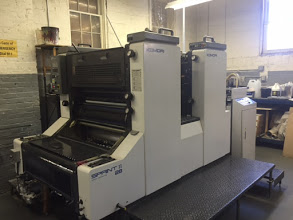 KOMORI S 228, YEAR: 1996 SN # 206: ,  STRAIGHT PRESS- NO PERFECTOR, TWO