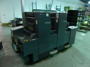 HEIDELBERG SM 52-2,  YEAR: 1998,  SN # 202 333,  STRAIGHT PRESS- NO PERFECTOR, TWO