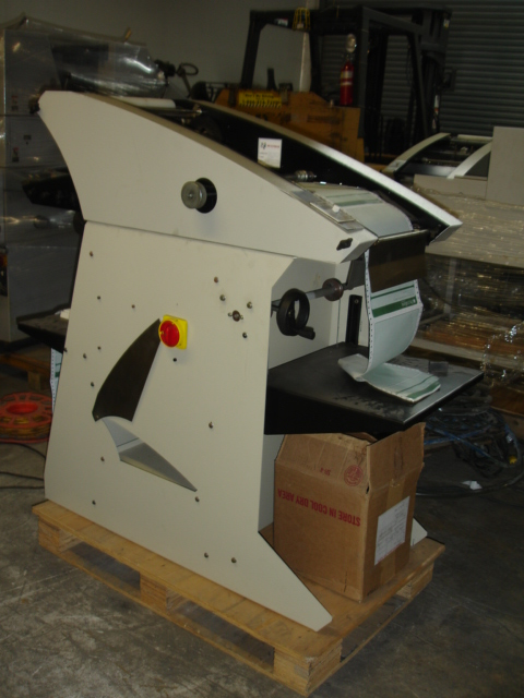 COLLATOR & NUMBERING FOR CONTINUOUS FORMS PRESS