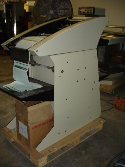 "COLLATOR & NUMBERING FOR CONTINUOUS FORMS PRESS 15"" WIDE 3"