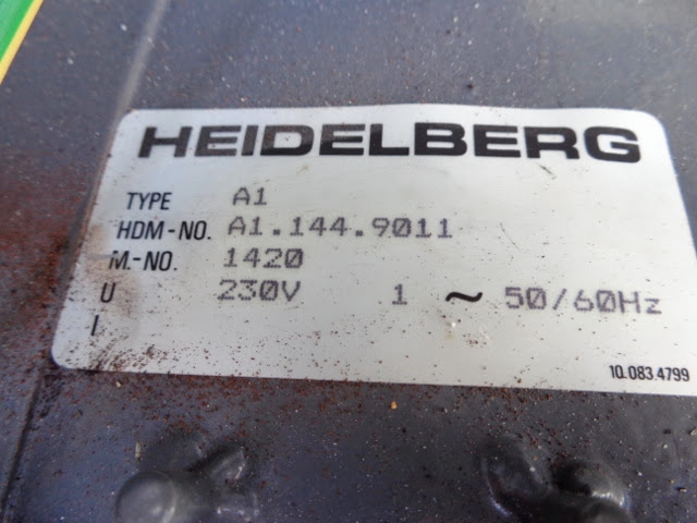 HEIDELBERG QUICKMASTER 46-2, YEAR: 1996, SN# 956 448 18