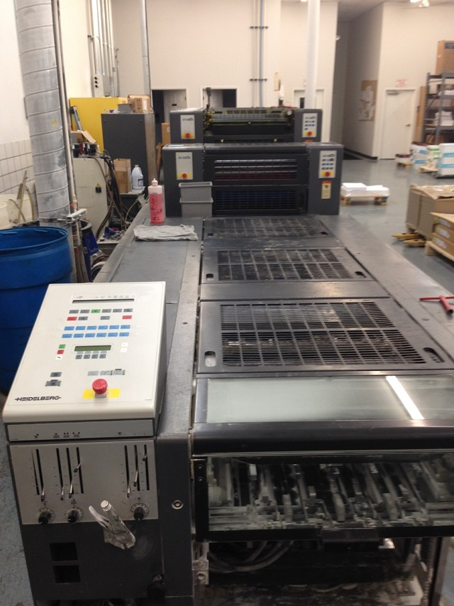 HEIDELBERG SM 52-5P3H+ L WITH TOWER COATER, YEAR: 2000, SN #  203 810 2