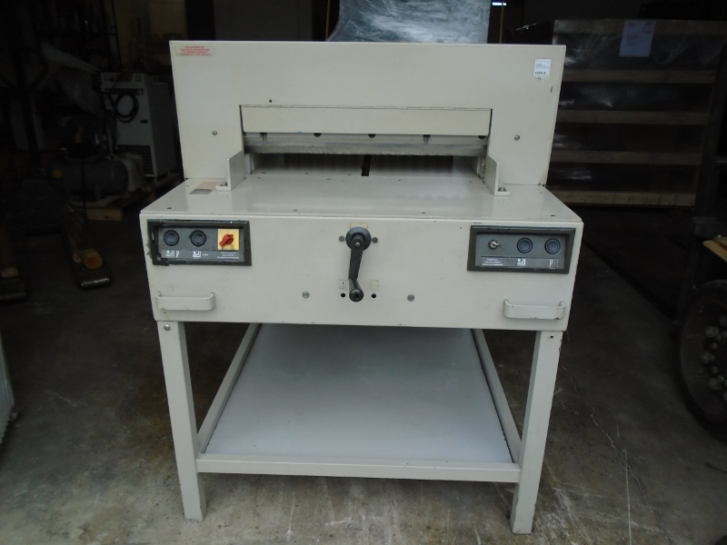 "IDEAL CUTTER, 25.5"", (64 CM), YEAR/ ANIO 08/1989, SN# 661417 81"