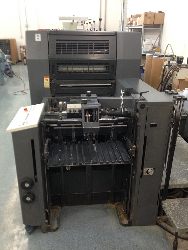 HEIDELBERG SM 52-5P3H+ L WITH TOWER COATER, YEAR: 2000, SN #  203 810 3