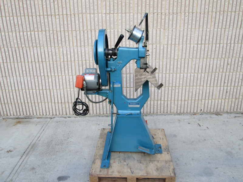 INTERLAKE ONE HEAD STITCHER, YEAR: 1978, SN # 9485 ,  MODEL NO. A 107
