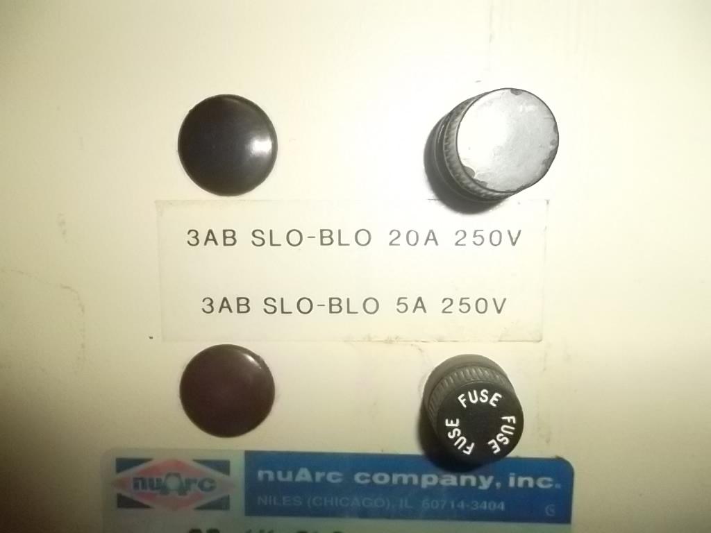 """NUARC 26-1K, SN# 8LC-A93-042, 26""""  8"""