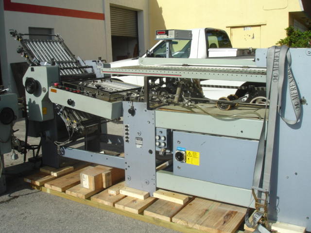 STAHL FOLDER, TYPE, R 52.2 YEAR :APPROX 1996, SN# 47888-211003 72