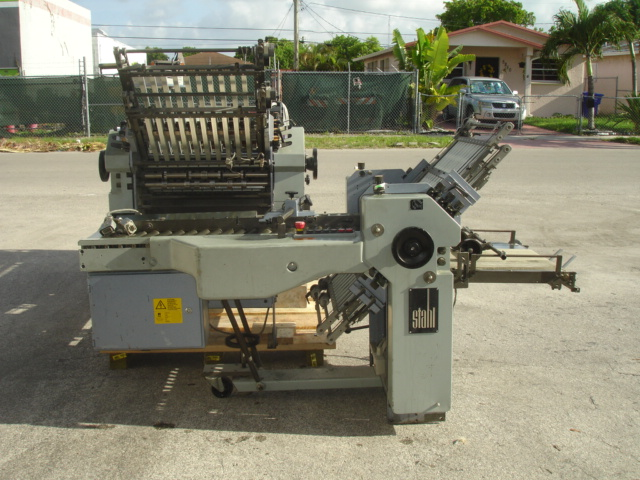 STAHL FOLDER, TYPE, R 52.2 YEAR :APPROX 1996, SN# 47888-211003 4