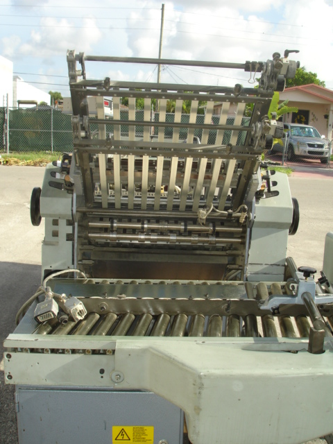 STAHL FOLDER, TYPE, R 52.2 YEAR :APPROX 1996, SN# 47888-211003 10