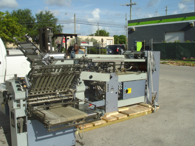 STAHL FOLDER, TYPE, R 52.2 YEAR :APPROX 1996, SN# 47888-211003 6