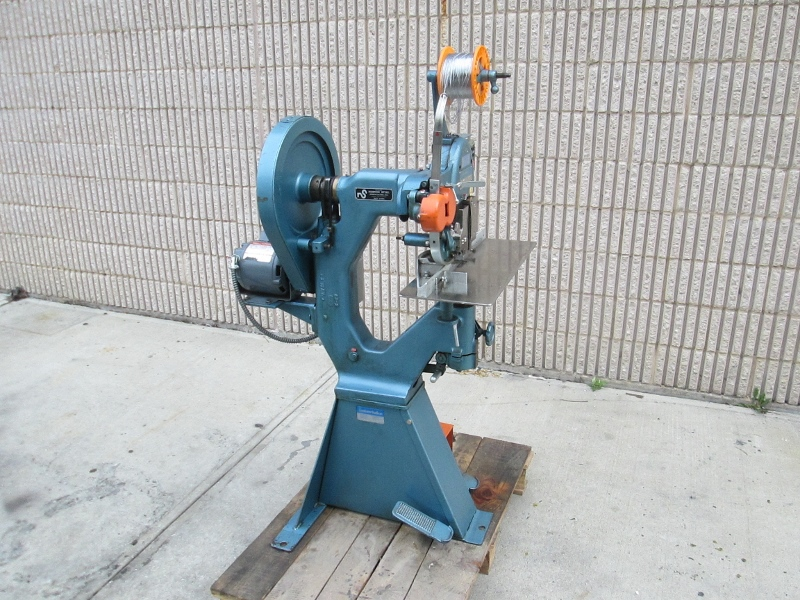 INTERLAKE ONE HEAD STITCHER, SN # 4942, MODEL NO. S3A 3