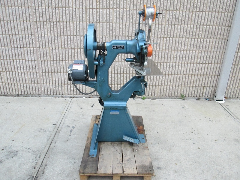INTERLAKE ONE HEAD STITCHER, SN # 4942, MODEL NO. S3A 87