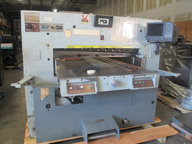 "PIVANO 50""[ 125 CM] CUTTER WITH MICROCUT PROGRAM, [50"" ]SN 452 49"
