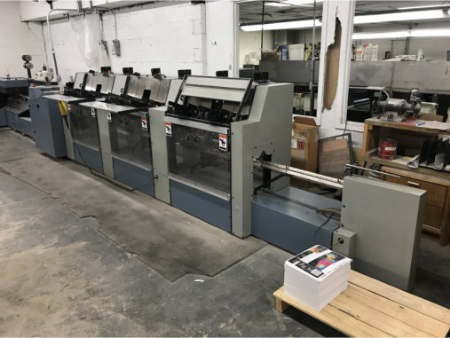 HEIDELBERG ST 90, YR 1999, 6 POCKET STITCHER 14