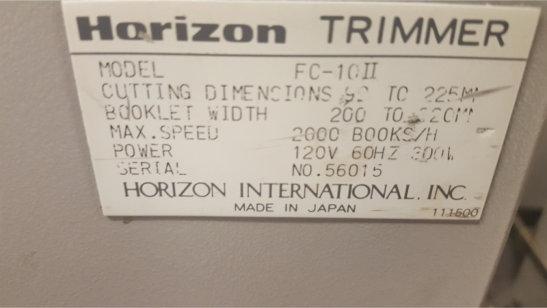 HORIZON MC 8a , APPROX YEAR: 1998 4