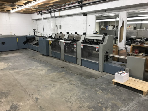 HEIDELBERG ST 90, YR 1999, 6 POCKET STITCHER 9