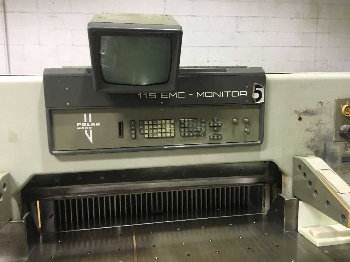 "POLAR 115EMC -MON CUTTER, [45"" ]SN 6031511, YEAR: 1990 20"