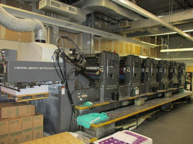 HEIDELBERG SM-102-6-SP WITH DHALGREN COATER, YEAR: 1983 2
