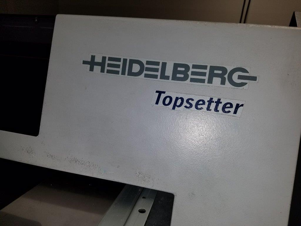 "HEIDELBERG 40"" TOP-SETTER PT- R 8000, YR NOV  2000, 1"
