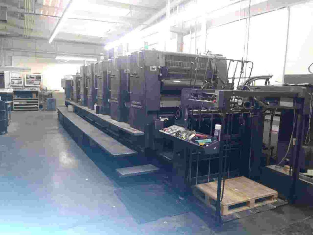 HEIDELBERG SM 102FP H+ L WITH TOWER COATER, YEAR: 1994, SN # 537 043 8