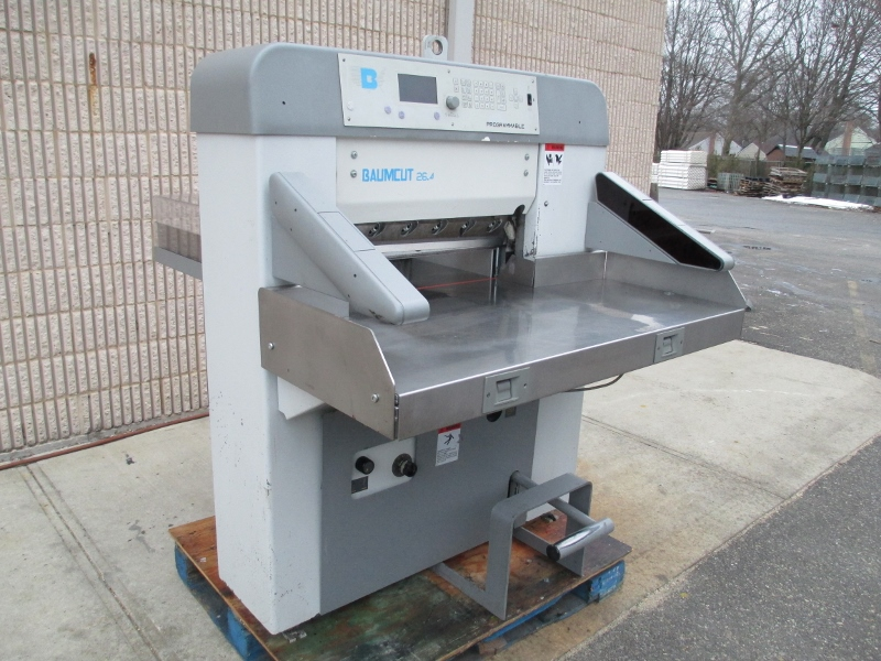 "BAUM CUT 66 CUTTER, [26.4"" ]SN 73D1040, YEAR: 2003 29"