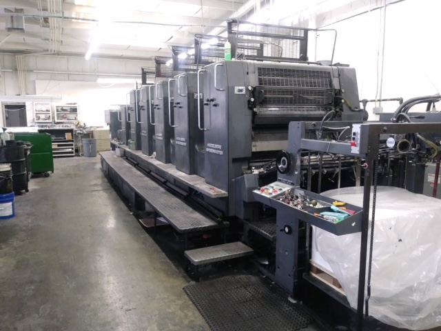HEIDELBERG SM 102FP H+ L WITH TOWER COATER, YEAR: 1994, SN # 537 043 0