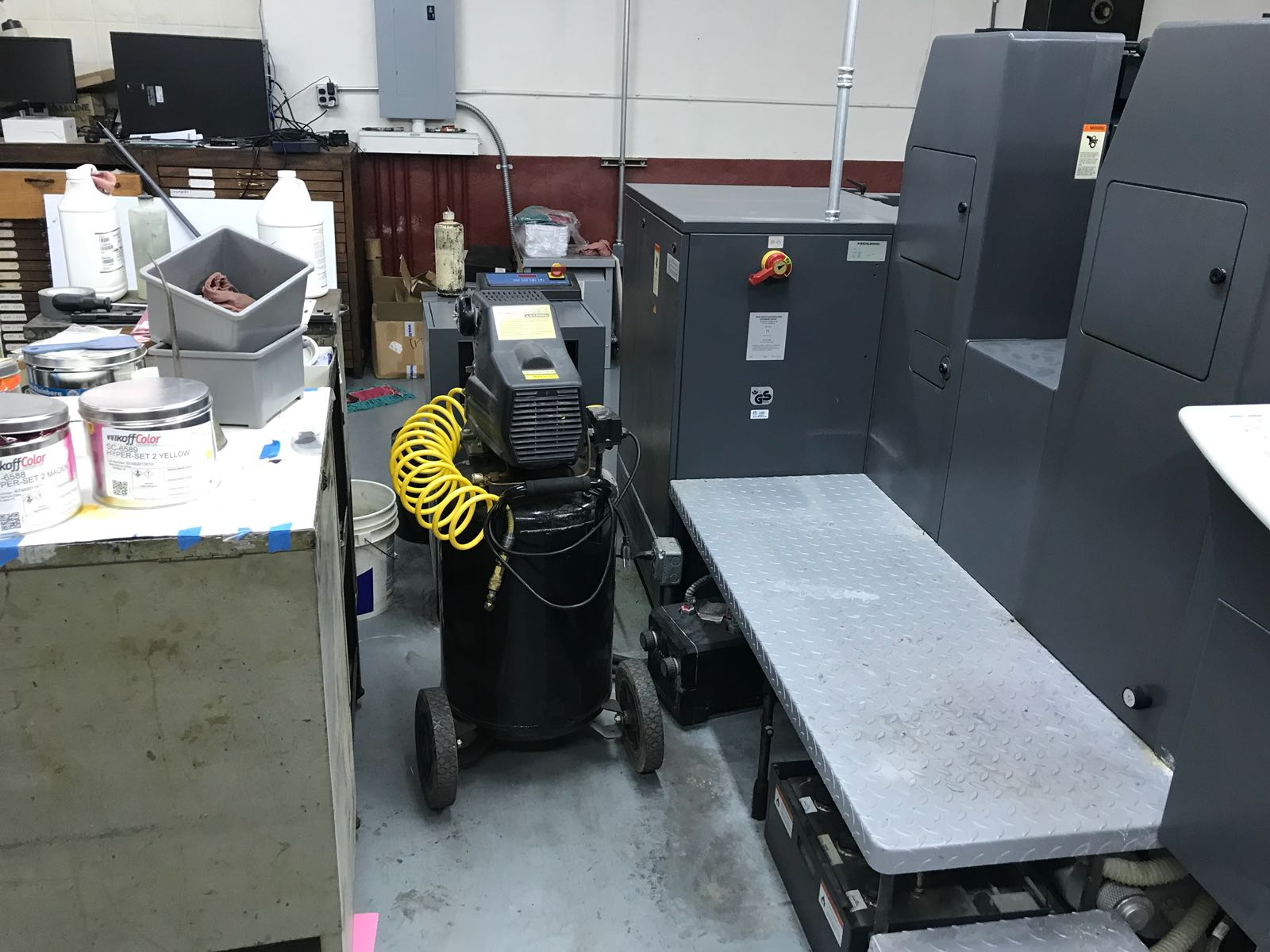 HEIDELBERG SM 52-2 SE, - SPECIAL EDITION, STRAIGHT PRESS, YEAR: 2004, SN # 206 781 23