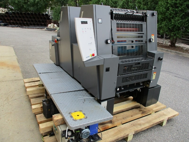 HEIDELBERG PM 52-2, YEAR: 2001, SN # 719 476 , DDS CONTINUOUS DAMPENING 43