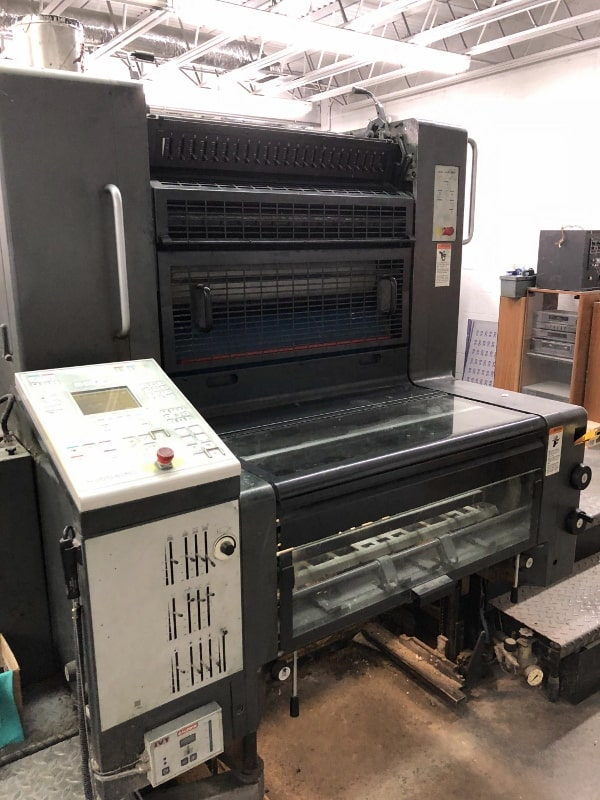 HEIDELBERG SM 74-2, STRAIGHT PRESS, YEAR: 1999, SN # 623 688 11