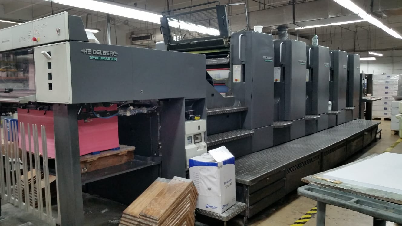 HEIDELBERG SM 102FPP WITH CP 2000, YEAR: 1999 21