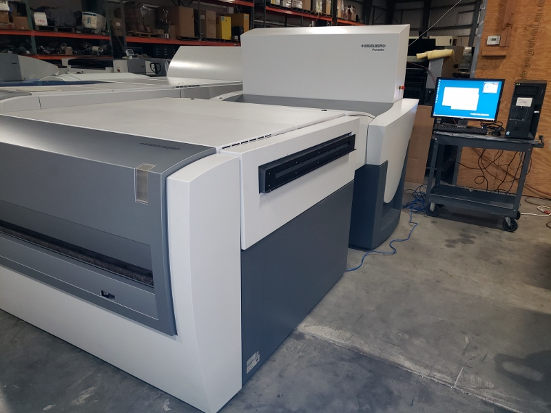 "2006 HEIDELBERG 40"" CTP PROSETTER  WITH AUTO LOADER 2"