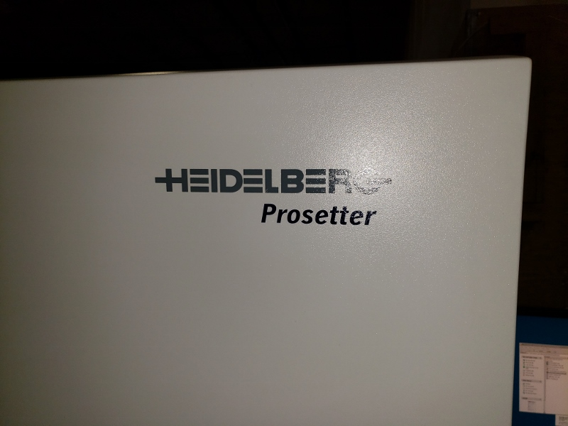 "2006 HEIDELBERG 40"" CTP PROSETTER  WITH AUTO LOADER 1"