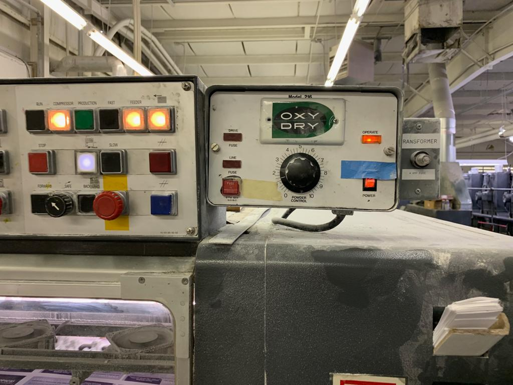 HEIDELBERG SM 102FP H+ L WITH TOWER COATER, YEAR: 1994, SN # 537 043 6