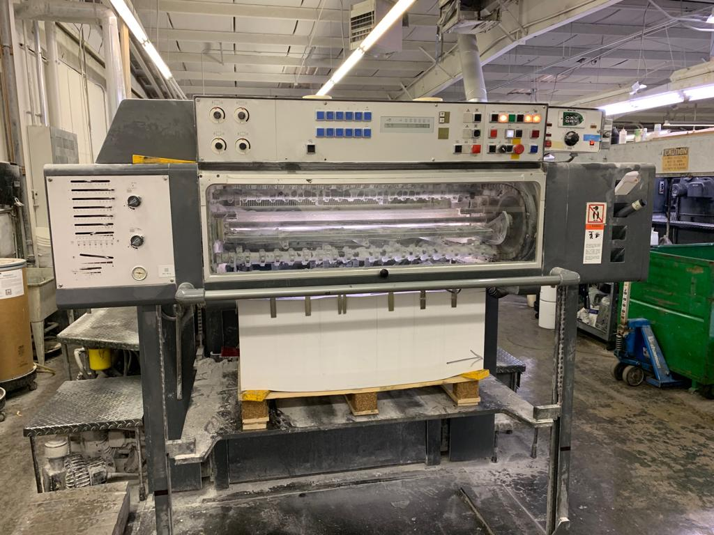 HEIDELBERG SM 102FP H+ L WITH TOWER COATER, YEAR: 1994, SN # 537 043 14