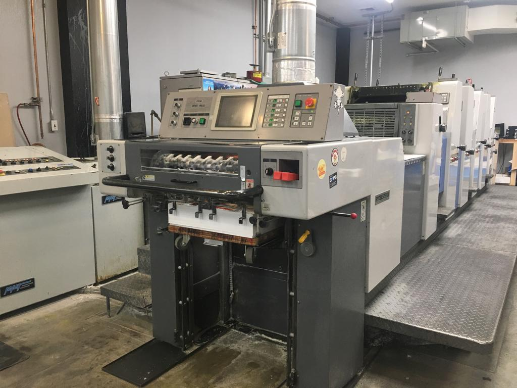 RYOBI 525HX-D WITH IN LINE COATER, SN # 1025, YEAR 1999 9
