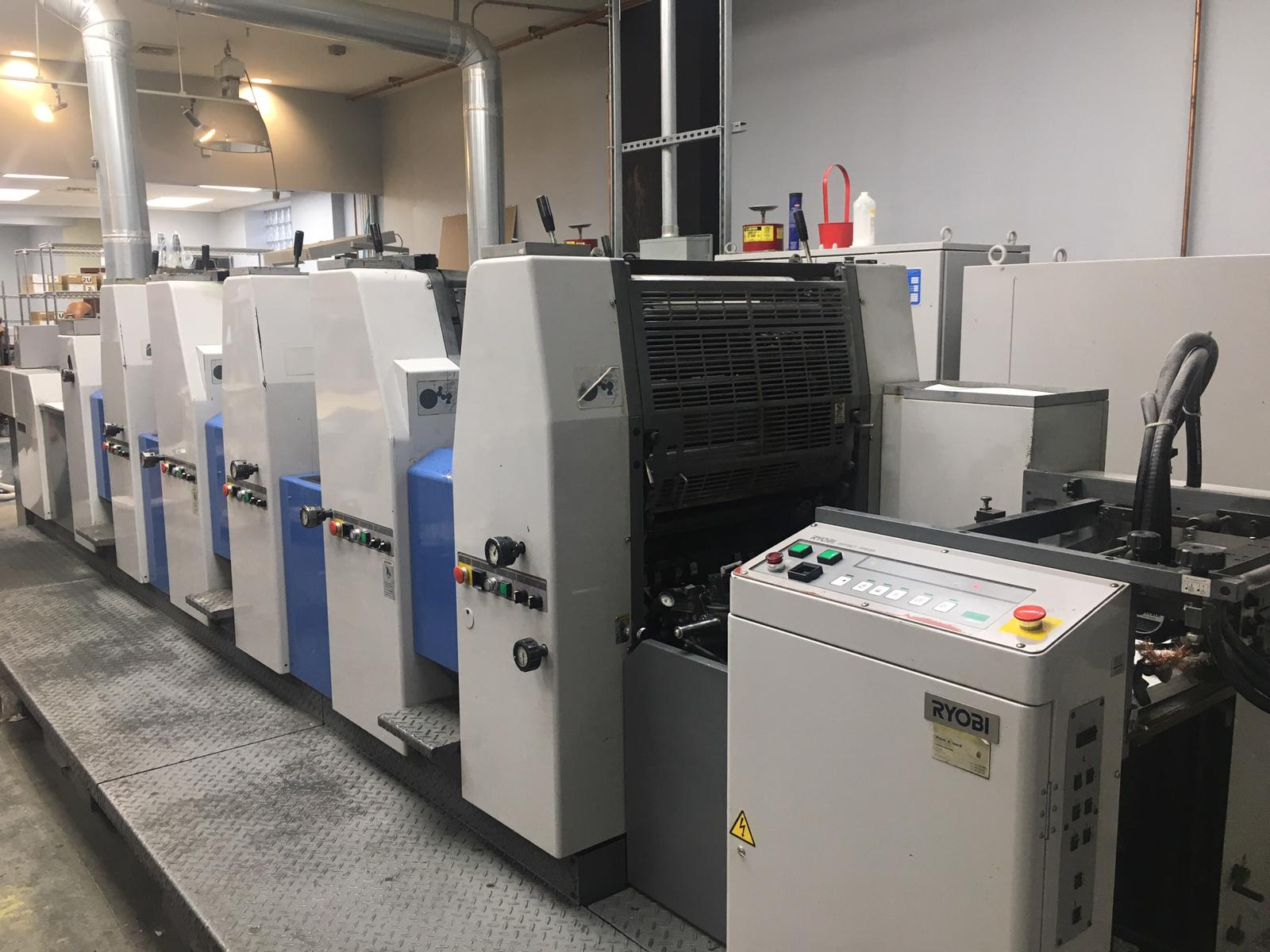 RYOBI 525HX-D WITH IN LINE COATER, SN # 1025, YEAR 1999 10