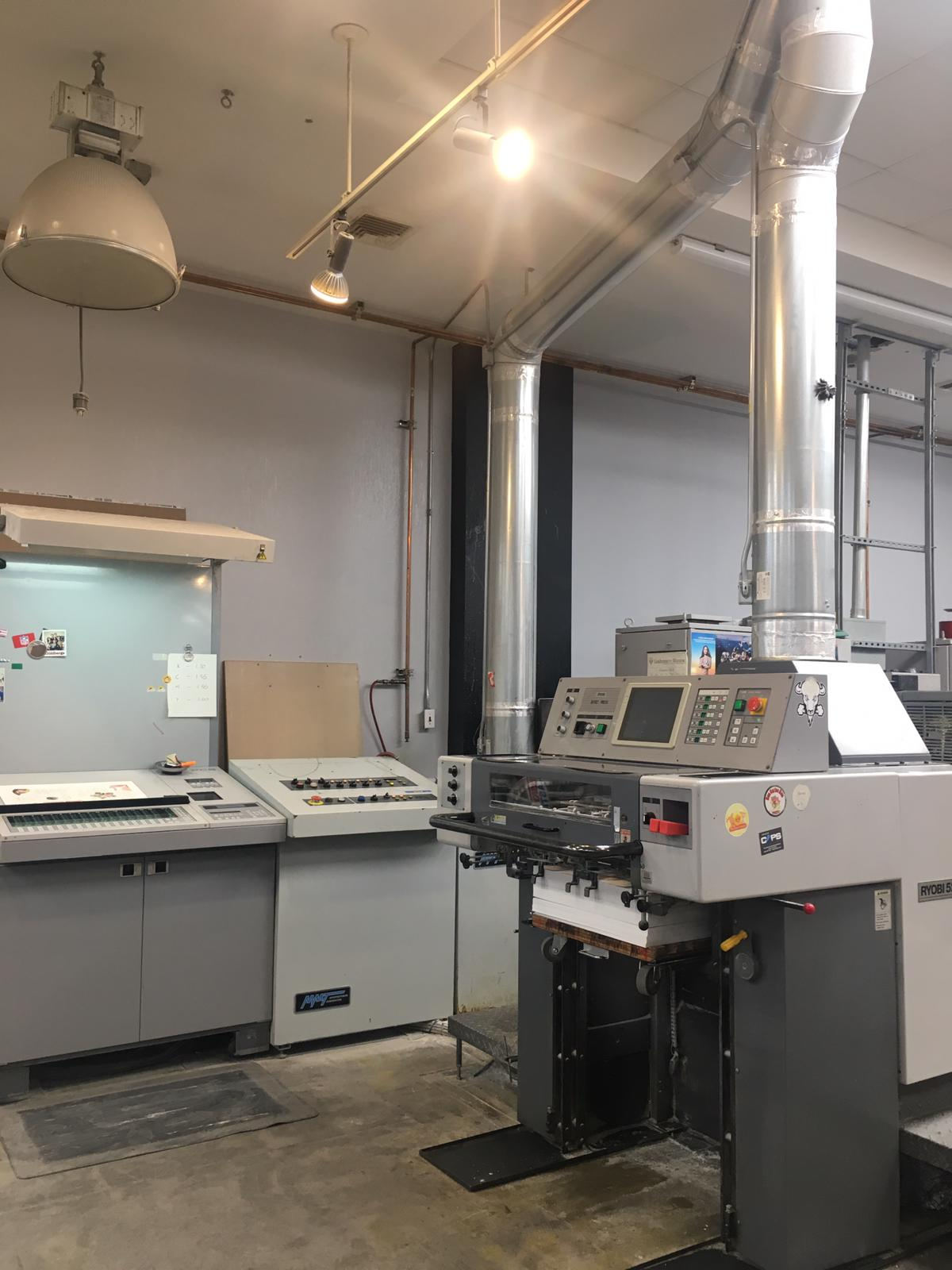 RYOBI 525HX-D WITH IN LINE COATER, SN # 1025, YEAR 1999 2