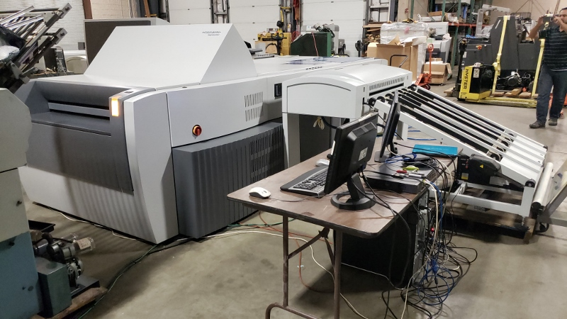 HEIDELBERG SUPRASETTER SCL/MCL 105, YR 2008 1