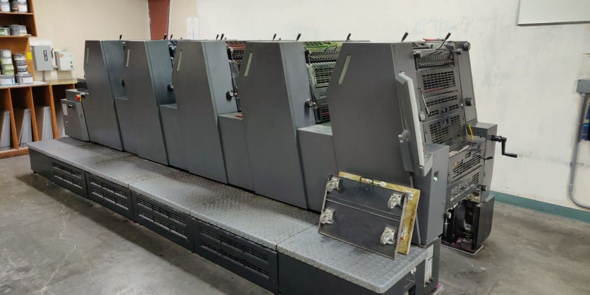 HEIDELBERG PM 52-5, SN # 719531, YEAR 2001 26