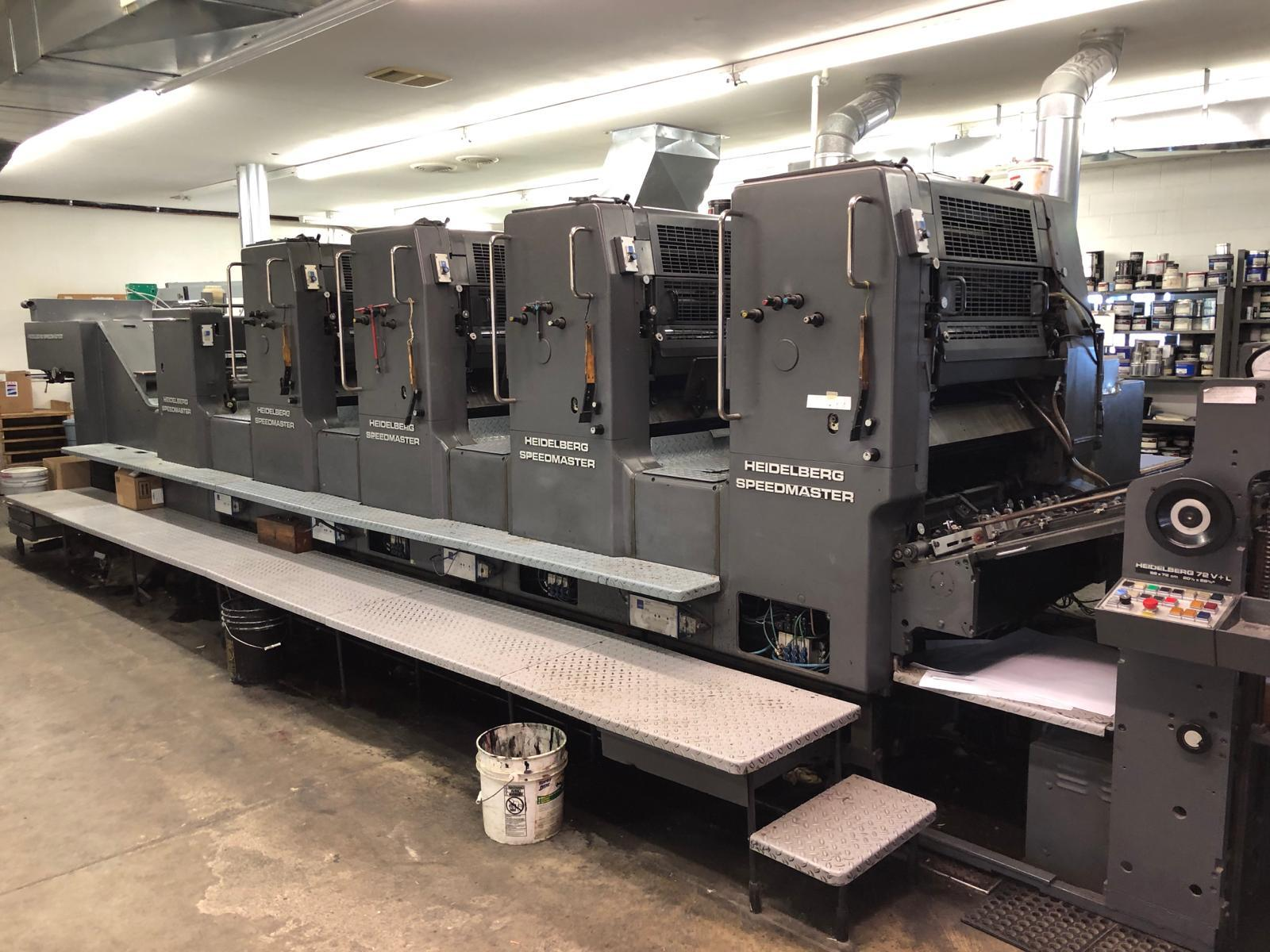 HEIDELBERG SM 72V L, TOWER COATER 40
