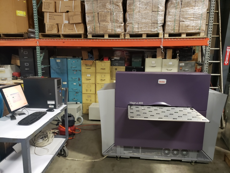 KODAK MAGNUS 400 THERMAL CTP, S/N 010-00355A, YEAR AUG 2007 20