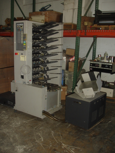 HORIZON MC 80a WITH STACKER,  APPROX  YEAR: 2000,  1 -8 STATION VACUUM TOWER AIR COLLATOR 22