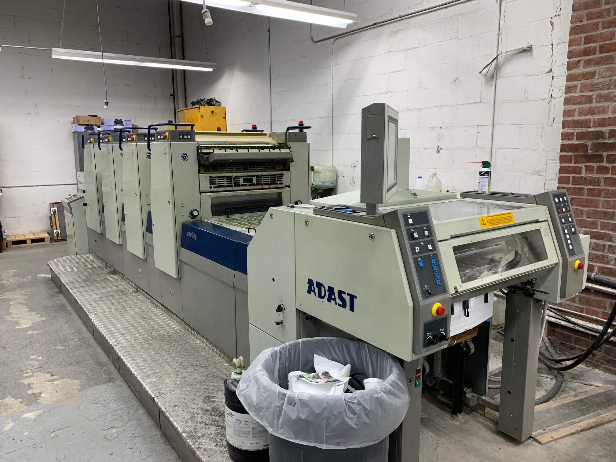 ADAST 747PL WITH COATER, YEAR 2007, SN # 10082 27